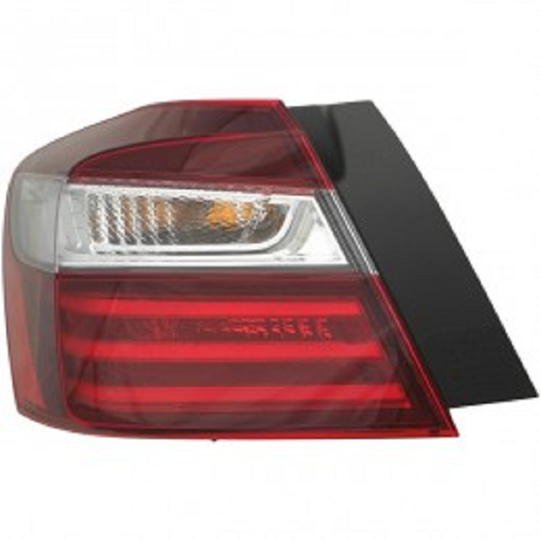 Honda Accord Sedan 2016 2017 tail light left driver outer
