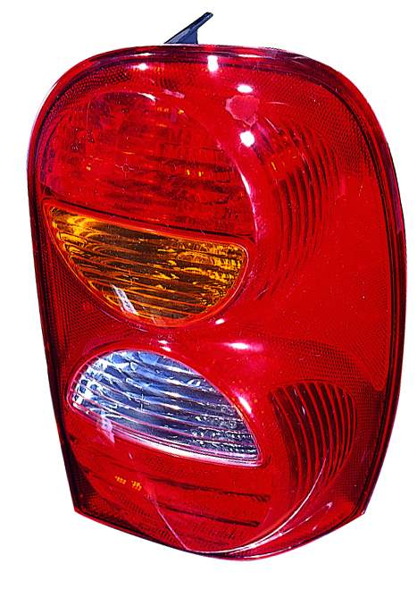 Jeep Liberty 2002 2003 2004 tail light right passenger