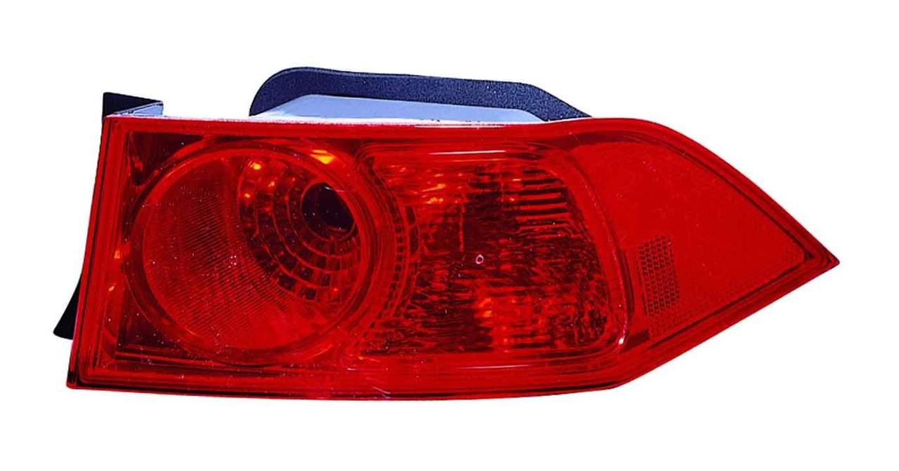 Acura TSX 2006 2007 2008 tail light outer right passenger