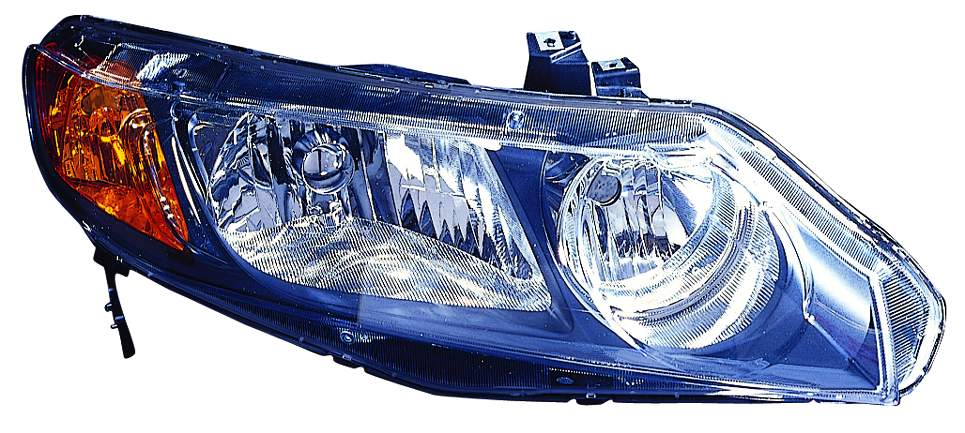 Honda Civic Sedan 2006 2007 2008 right passenger headlight