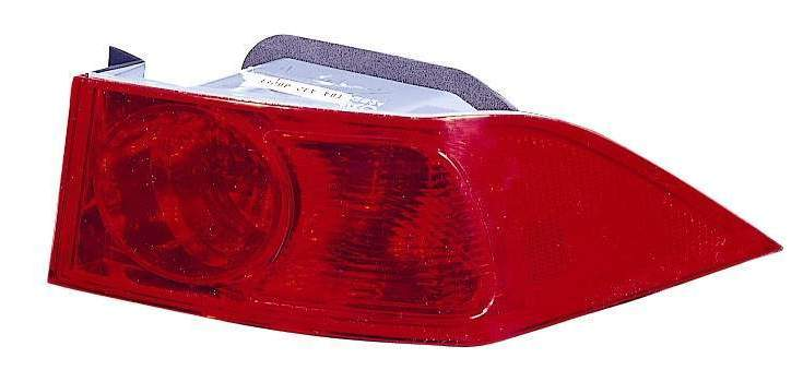 Acura TSX 2004 2005 tail light outer right passenger