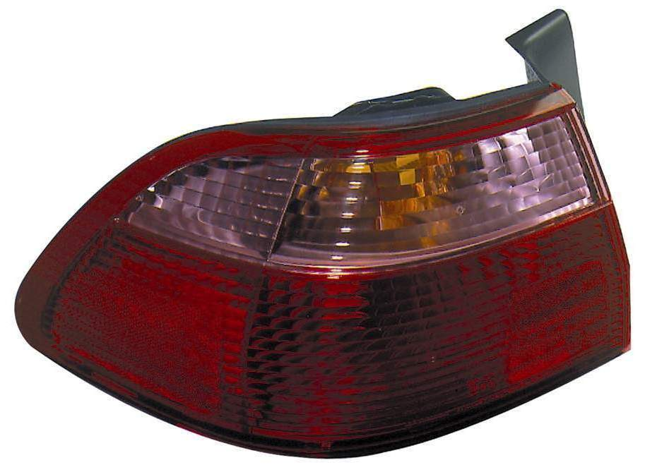 Honda Accord Sedan 1998 1999 2000 tail light left driver outer