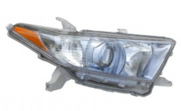Toyota Highlander Hybrid 2011 2012 2013 right passenger headlight