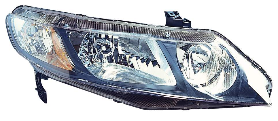Honda Civic Sedan 2009 2010 2011 right passenger headlight