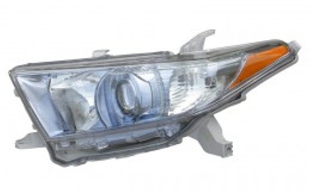 Toyota Highlander Hybrid 2011 2012 2013 left driver headlight