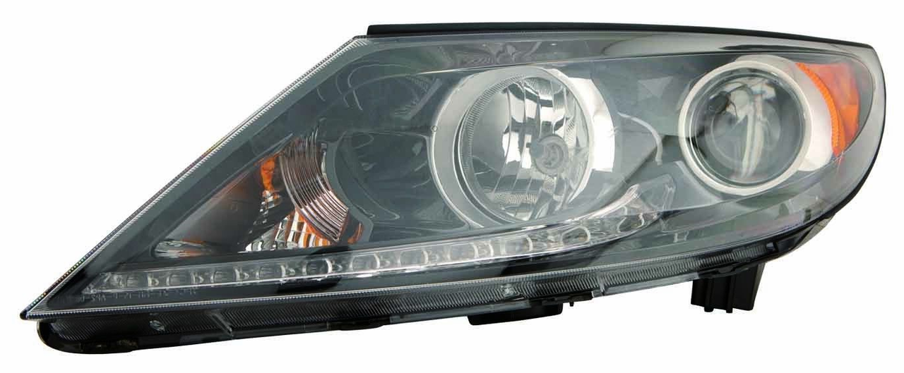 Kia Sportage 2011 2012 2013 left driver headlight (LED)