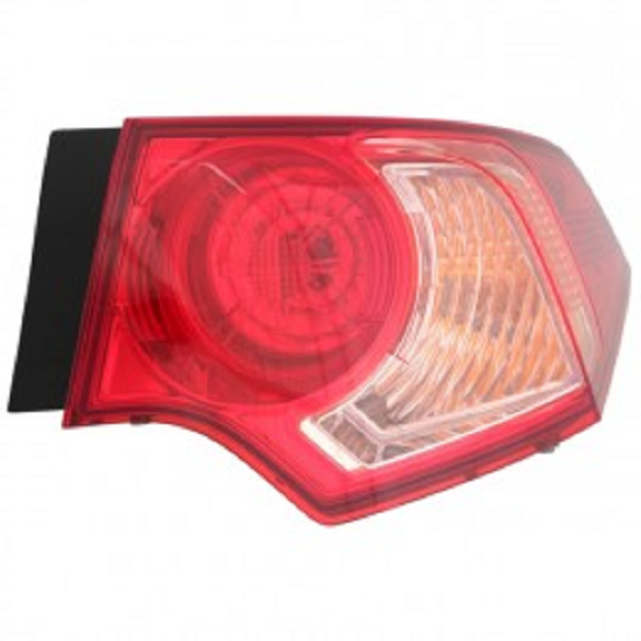 Acura TSX 2011 2012 2013 2014 tail light outer right passenger