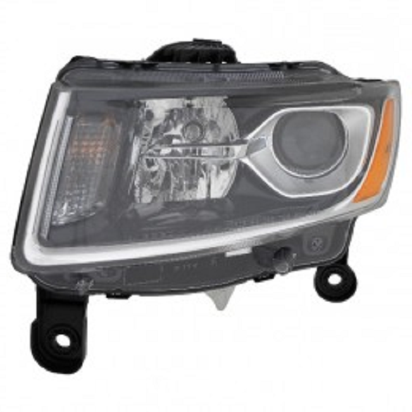 Jeep Grand Cherokee 2014 2015 2016 left driver headlight (Laredo & Limited model)
