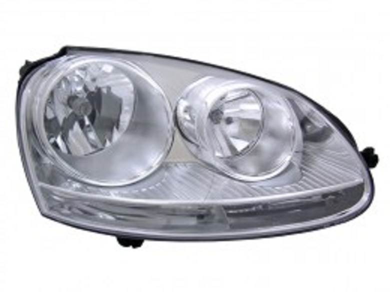 Volkswagen Rabbit 2006 2007 2008 2009 right passenger headlight