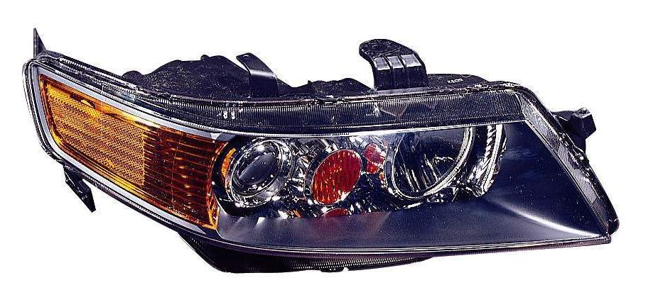 Acura TSX 2004 2005 right passenger headlight