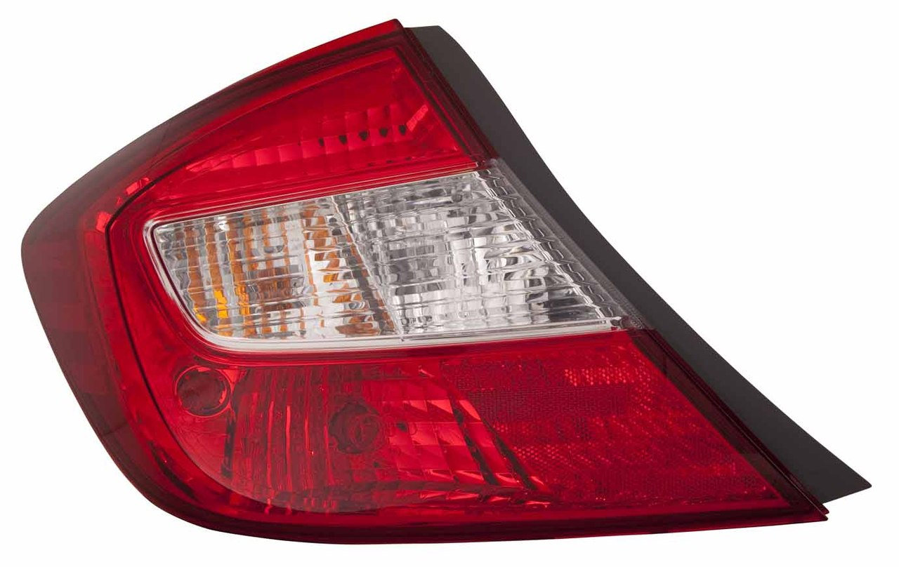 Honda Civic Sedan 2012 2013 tail light left driver