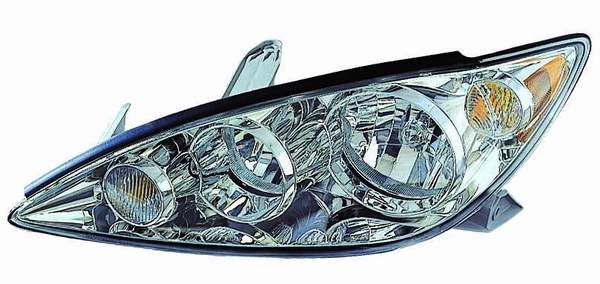 Toyota Camry 2005 2006 left driver headlight
