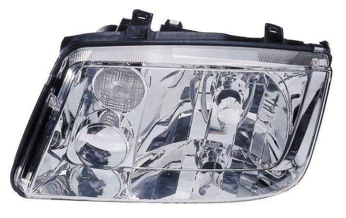 Volkswagen Jetta 1999 2000 2001 2002 left driver headlight with Fog