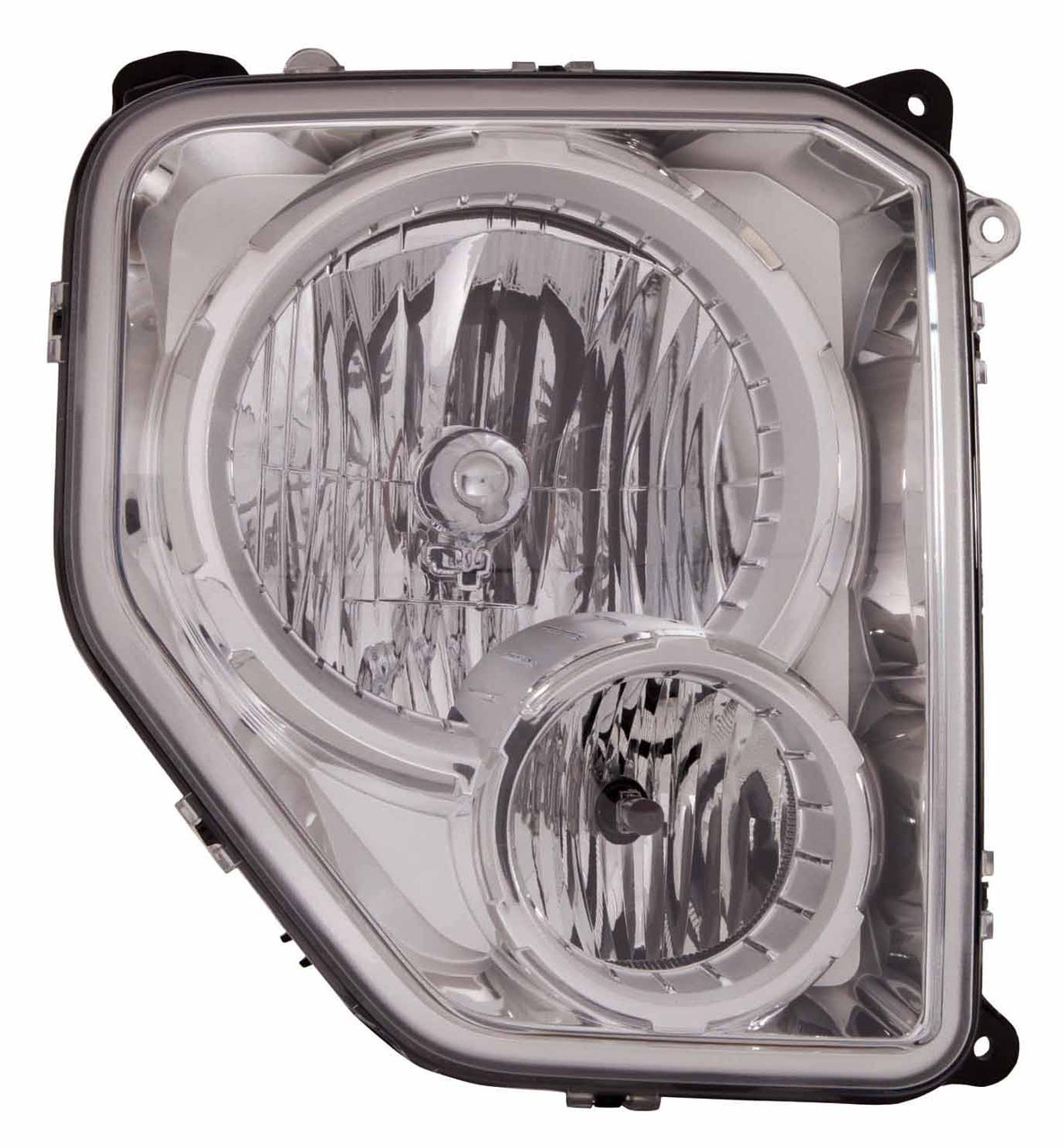 Jeep Liberty 2008 2009 2010 2011 2012 right passenger headlight (with fog lamp)
