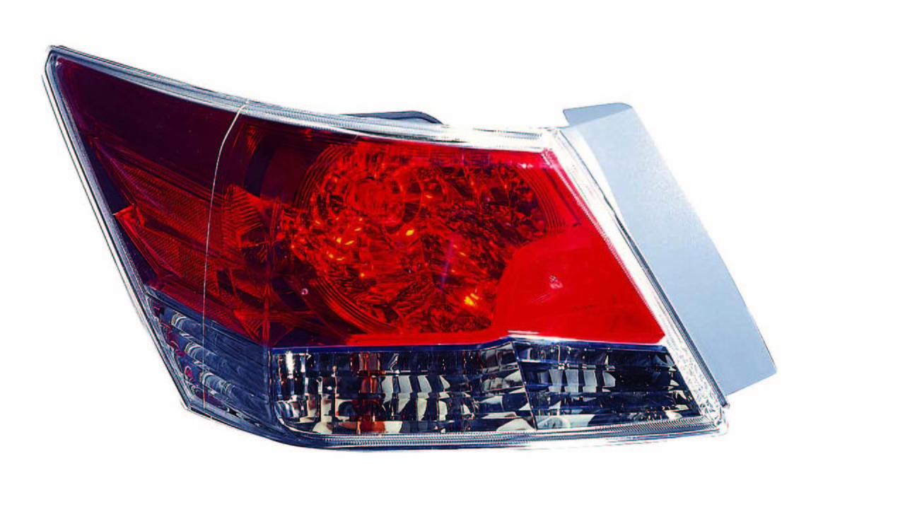 Honda Accord Sedan 2008 2009 2010 2011 2012 tail light left driver