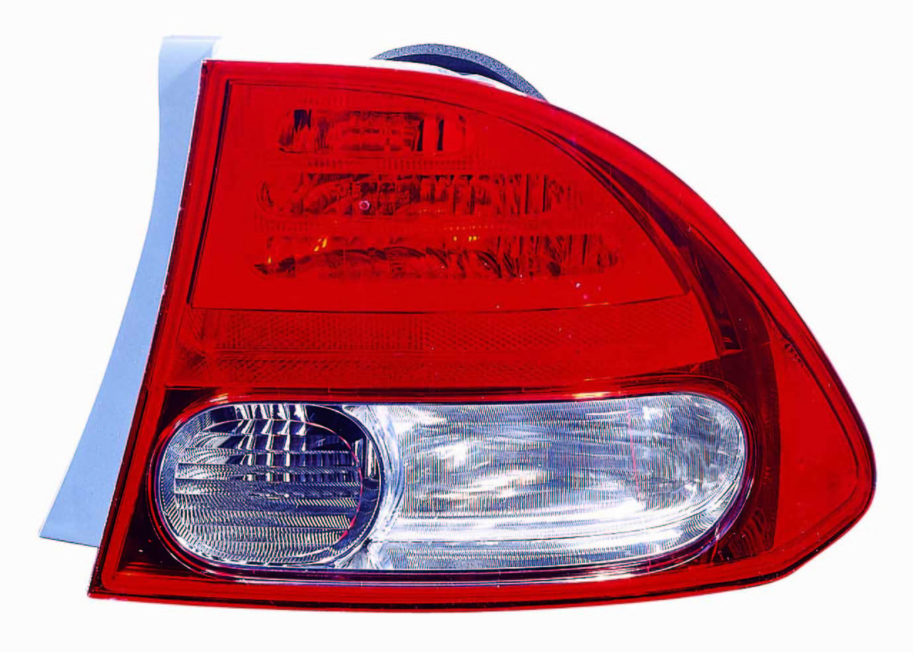 Honda Civic Sedan 2009 2010 2011 tail light outer right passenger