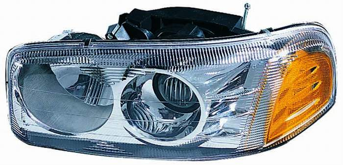 GMC Yukon Denali / XL 2000 2001 2002 2003 2004 2005 2006 left driver headlight