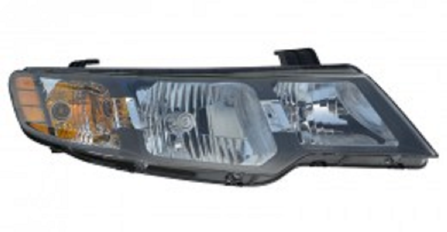 Kia Forte Sedan 2010 2011 2012 2013 right passenger headlight