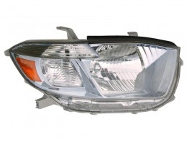 Toyota Highlander Hybrid 2008 2009 2010 right passenger headlight