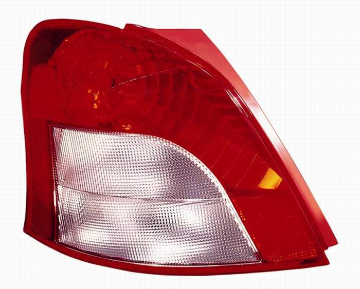 Toyota Yaris hatchback 2007 2008 tail light left driver