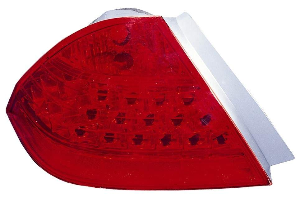 Honda Accord Sedan 2006 2007 tail light left driver