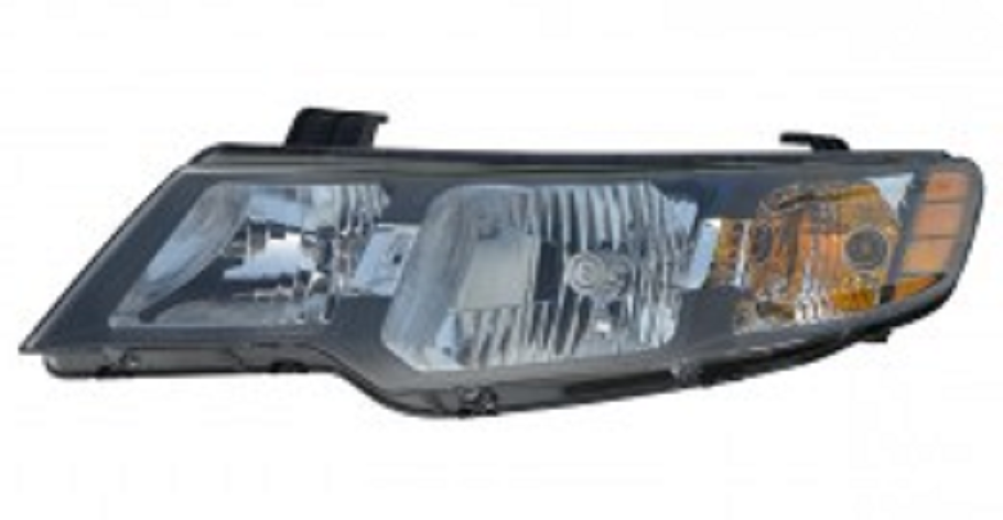 Kia Forte Sedan 2010 2011 2012 2013 left driver headlight