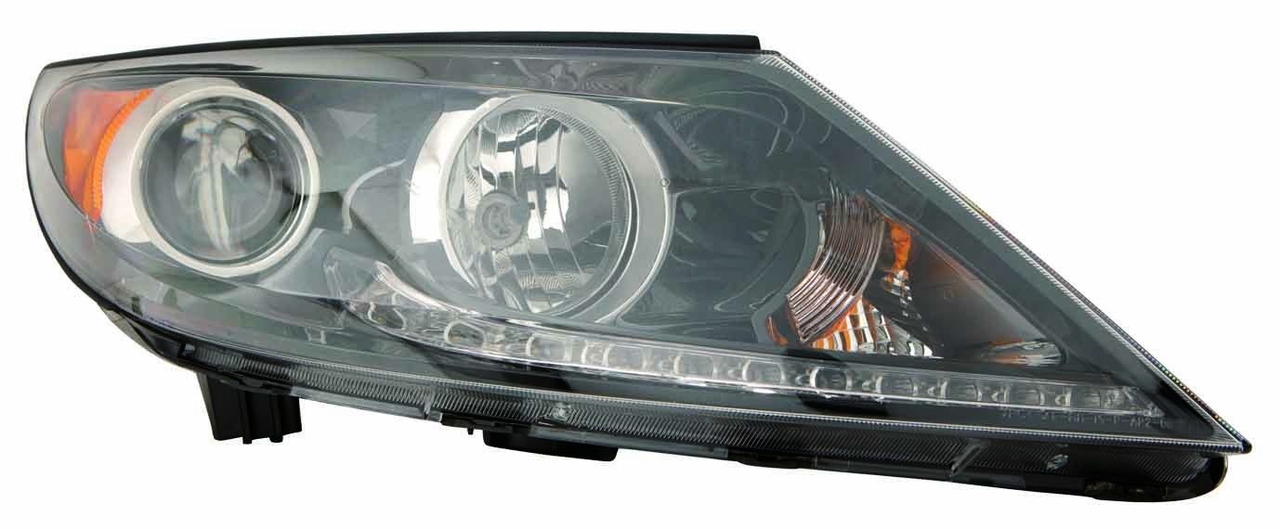 Kia Sportage 2011 2012 2013 right passenger headlight (LED)