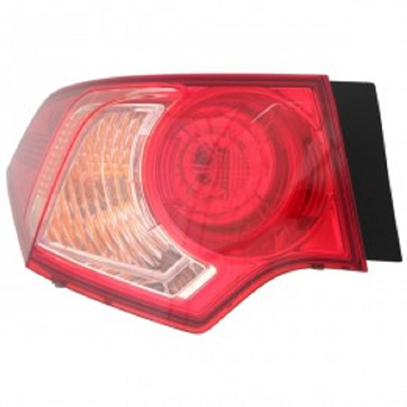 Acura TSX 2011 2012 2013 2014 tail light outer left driver