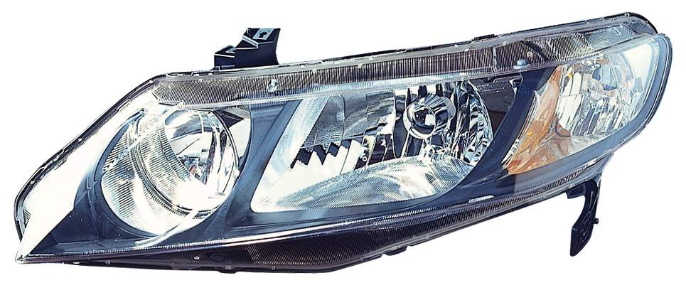 Honda Civic Sedan 2009 2010 2011 left driver headlight