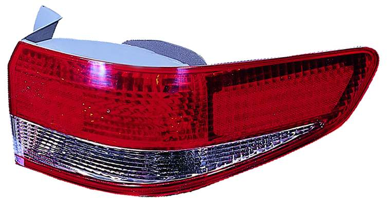 Honda Accord Sedan 2003 2004 tail light outer right passenger