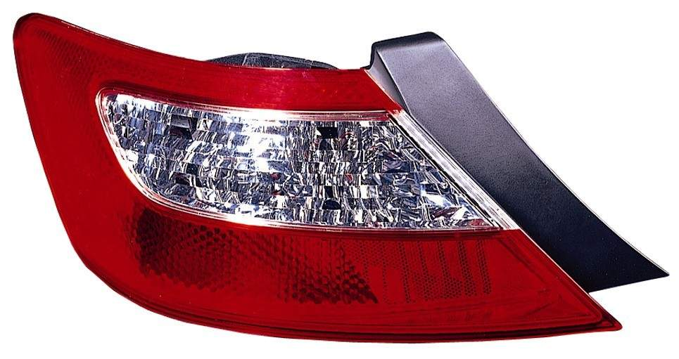 Honda Civic Coupe 2006 2007 2008 left driver tail light