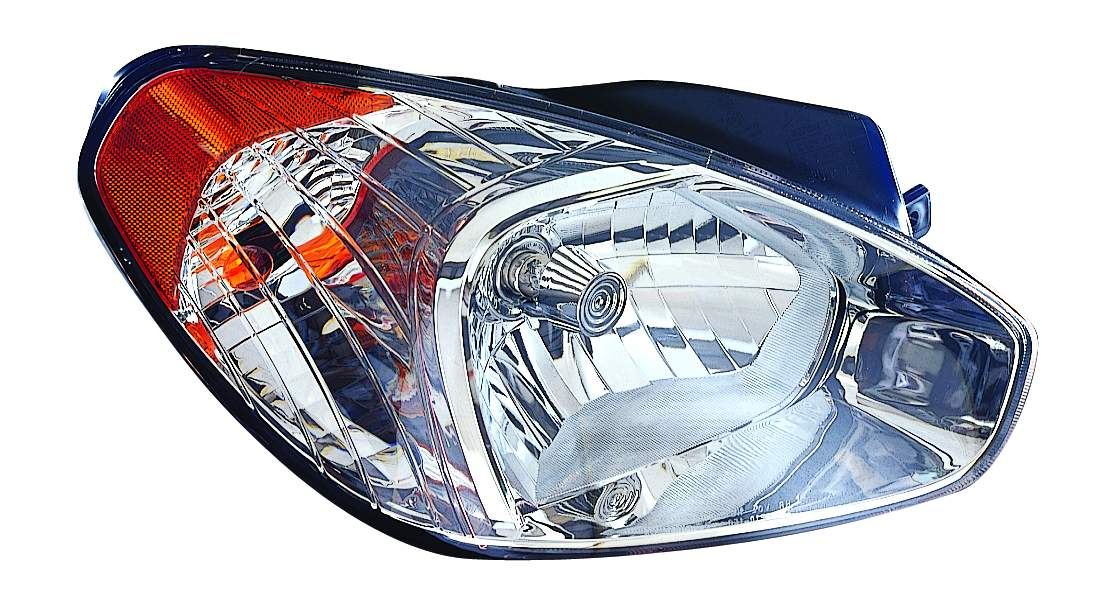Hyundai Accent sedan 2007 2008 2009 2010 2011 right passenger headlight
