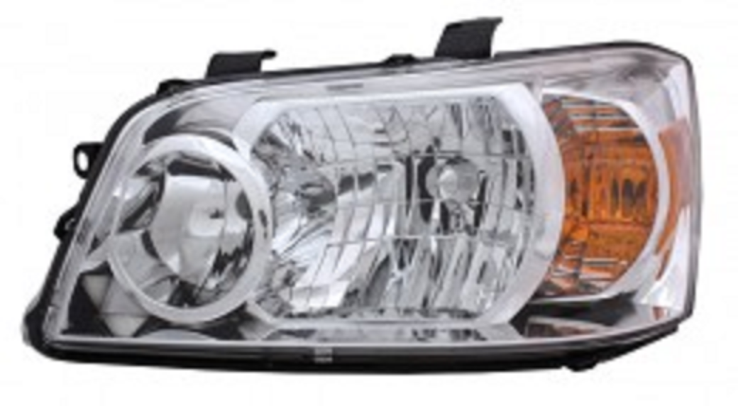 Toyota Highlander 2007 left driver headlight