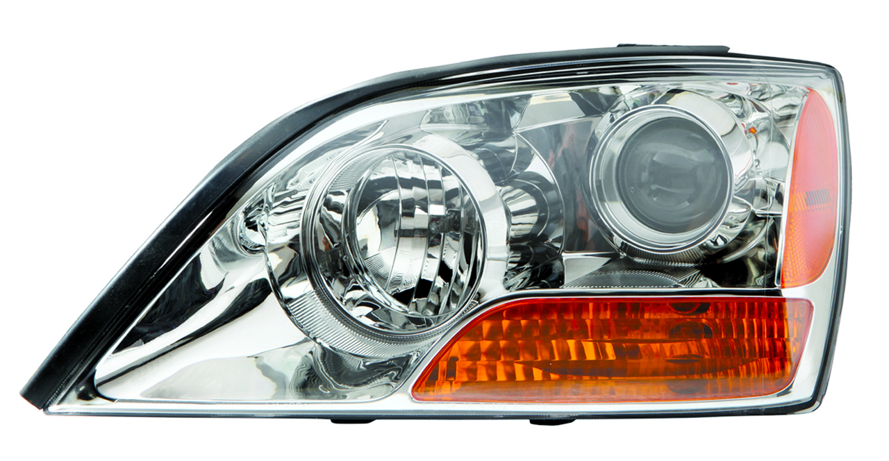 Kia Sorento 2008 2009 left driver headlight