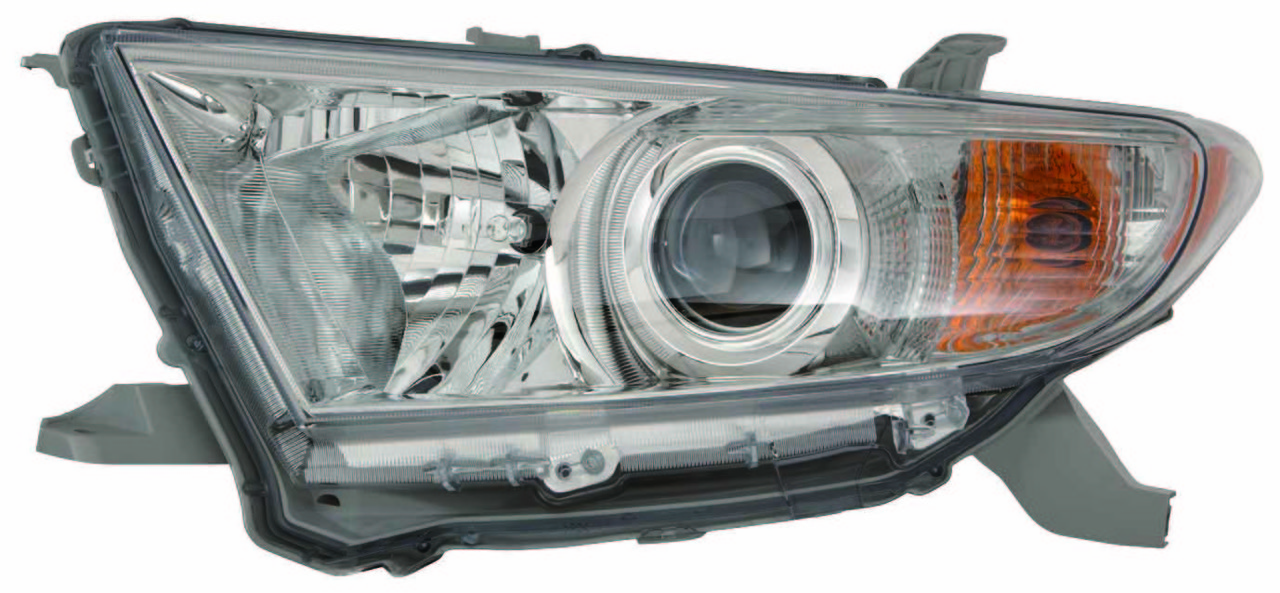 Toyota Highlander 2011 2012 2013 left driver headlight