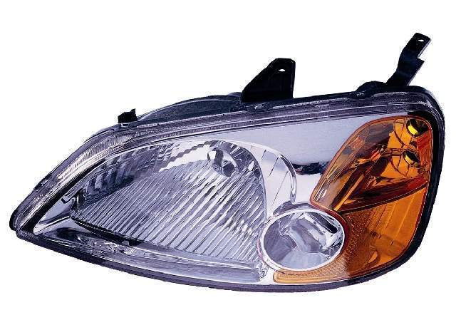 Honda Civic Sedan 2001 2002 2003 left driver headlight