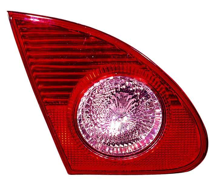 Toyota Corolla sedan 2005 2006 2007 2008 tail light inner left driver