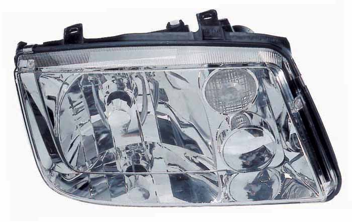 Volkswagen Jetta 1999 2000 2001 2002 right passenger headlight without Fog