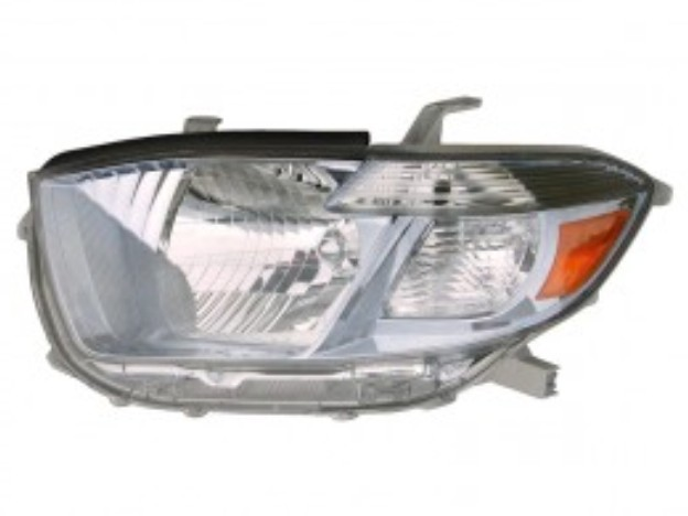 Toyota Highlander Hybrid 2008 2009 2010 left driver headlight