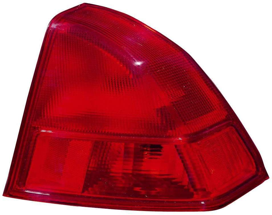 Honda Civic Sedan 2001 2002 tail light outer right passenger