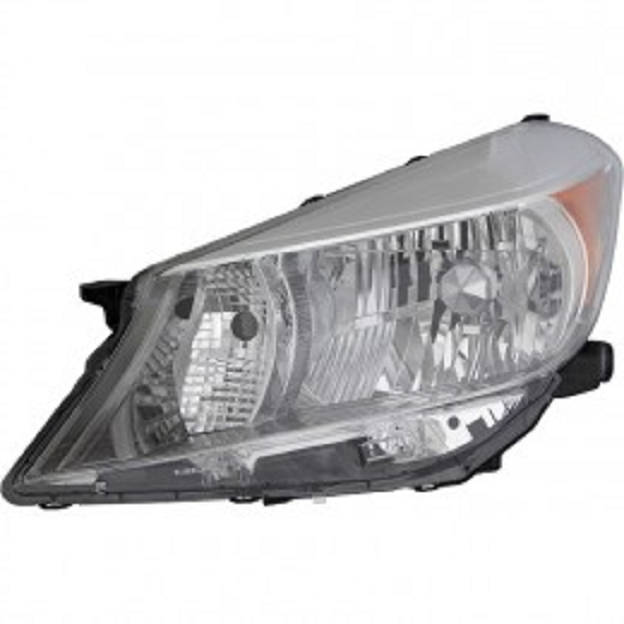 Toyota Yaris hatchback 2012 2013 2014 left driver headlight