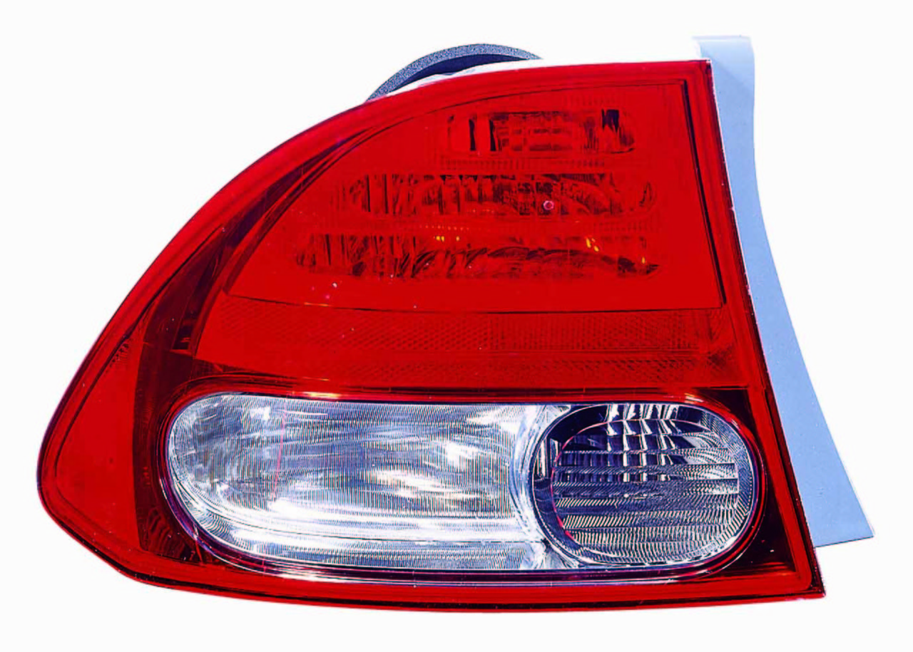 Honda Civic Sedan 2009 2010 2011 tail light outer left driver