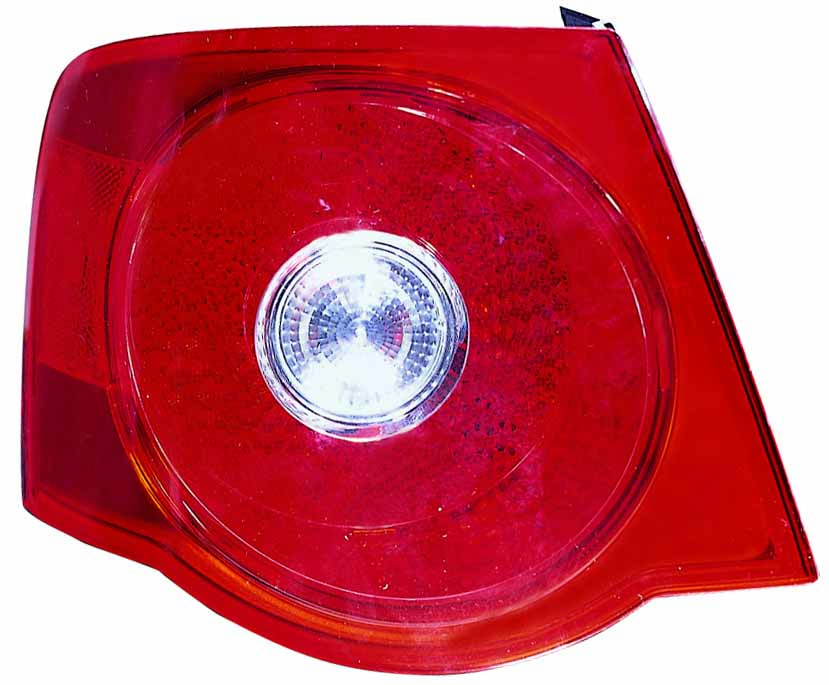 Volkswagen Jetta 2005 2006 2007 tail light left driver
