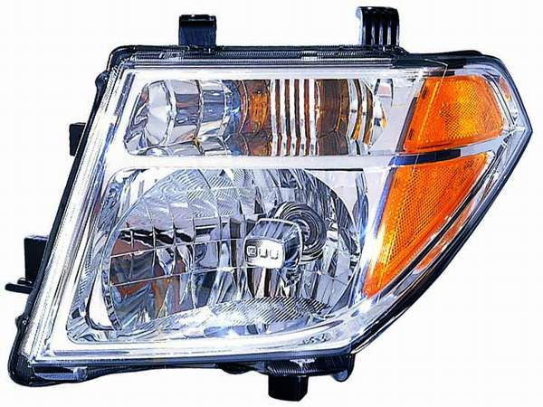 Nissan Pathfinder 2005 2006 2007 left driver headlight