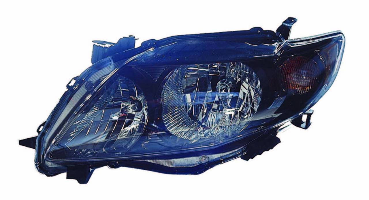 Toyota Corolla sedan 2009 2010 left driver headlight S / XRS model