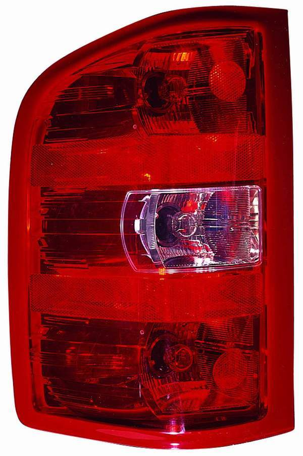 Chevrolet Silverado 1500 / 2500 / 3500 2007 2008 2009 2010 tail light left driver
