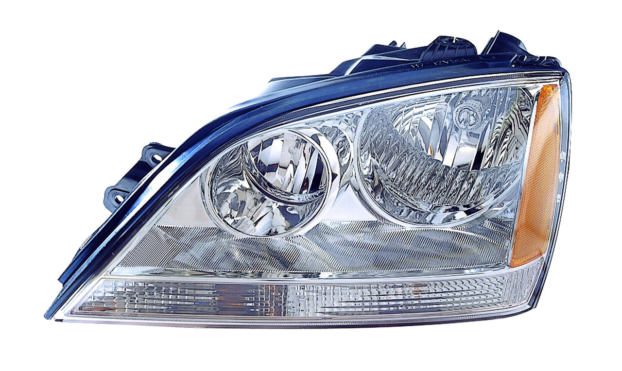 Kia Sorento 2005 2006 left driver headlight