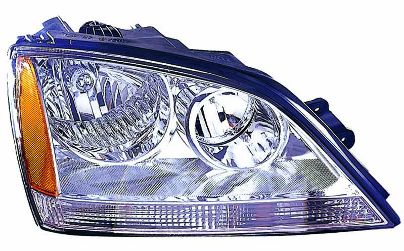 Kia Sorento 2003 2004 right passenger headlight