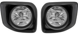 GMC Canyon 2015 2016 2017 2018 fog lights pair left and right with bezels & wiring kit