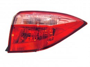 Toyota Corolla sedan 2017 2018 2019 tail light outer right passenger CE, L, LE, LE ECO MODELS